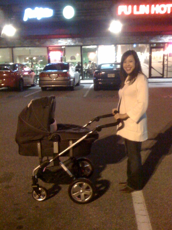 Just purchased your stroller and we're bringing it to the car!